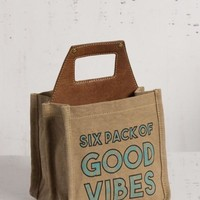 Good Vibes Beer Caddy By Mona B