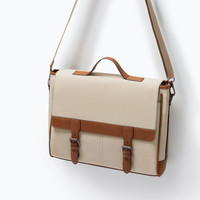 Combination messenger bag