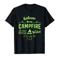 Funny Toasted Camping T-shirt
