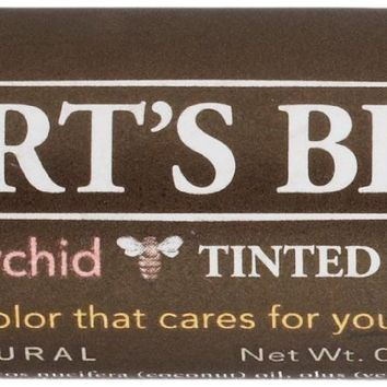 Burt's Bees Natural Tinted Lip Balm Blush Orchid 0.15 Oz