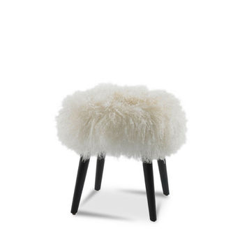 Wilson Sheepskin Ottoman | Precedent Furniture