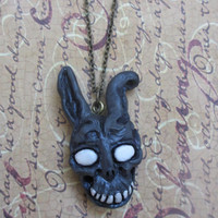 Frank the bunny mask necklace -Donnie Darko