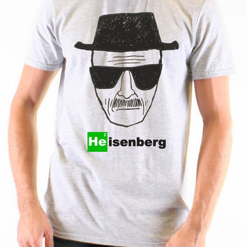 Heisenberg - Breaking Bad - Grey - All Sizes Available - T Shirt - - 564