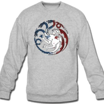 House Targaryen Worn Sweatshirt Crew Neck