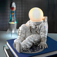 """Astronaut At Ease"" Lighted Sculpture"
