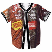 Backwoods Cigar Baseball Jersey
