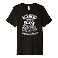 King of the 4x4 Off Roading Premium T-shirt