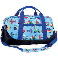 Olive Kids Trains, Planes & Trucks Duffel Bag - 25079