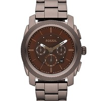 Fossil Machine Brown IP Watch