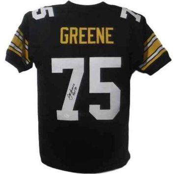 DCCKJNG Joe Greene Signed Autographed Pittsburgh Steelers Football Jersey (JSA COA)