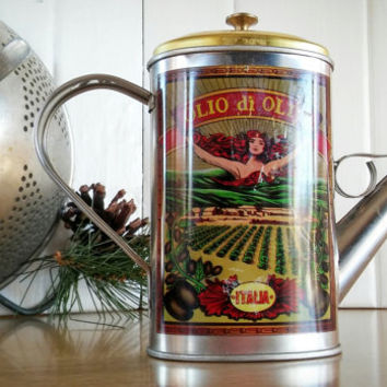 Shop Vintage Oil Cans on Wanelo