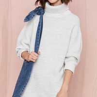 Nasty Gal Adrianne Sweater Dress