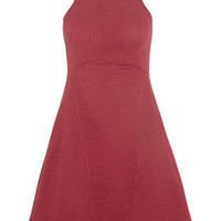 Carven Ribbed cotton-jersey dress – 55% at THE OUTNET.COM
