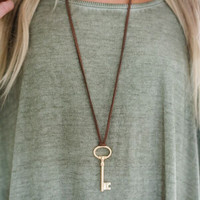 Key to Me Necklace
