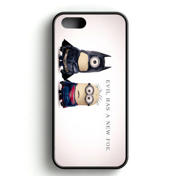 Batman And Superman Minion iPhone 4s iPhone 5s iPhone 5c iPhone SE iPhone 6|6s iPhone 6|6s Plus Case
