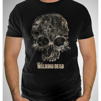 The Walking Dead Skull Tee