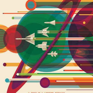 NASA Grand Tour Travel Poster 11x17