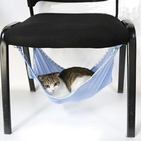 Cute Cats Summer Home hammock cataccessorie Portable Cats Pets Breathable Mesh Hammock Multifunction Cats Beds 3 Colors