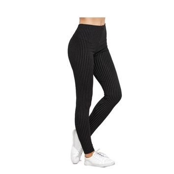 Women's Vertical Striped Leggings