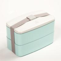 BPA Free Reusable Lunch Bento Box with Cutlery Food Storage Canteen Fashion Style Lunch Box 3 Colors for Option