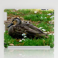 Resting Duck iPad Case by Moonshine Paradise