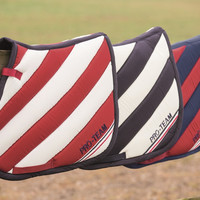 HKM Boston Stripes Saddle Pad