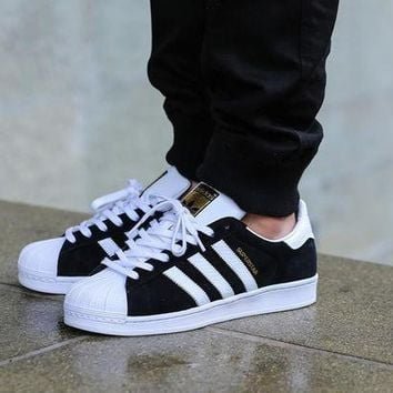VLX85E Beauty Ticks Adidas Superstar Ii Snake Pack Black/white