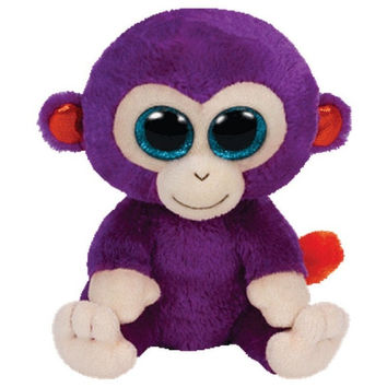 TY Beanie Boos Grapes the Monkey Small 6""
