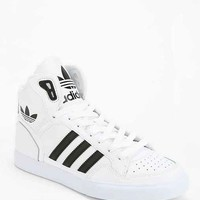adidas Originals Extaball Leather High-Top Sneaker- Black