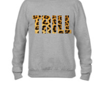 trill animal print - Crewneck Sweatshirt