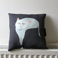 Diva Cat Pillow