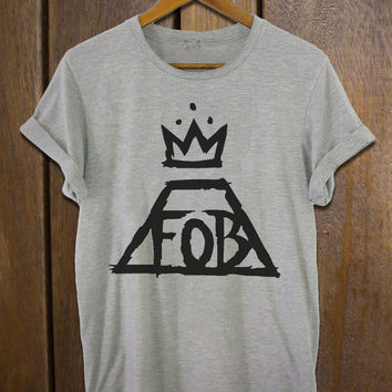 fall out boy shirt fob band for women and men t-shirt clothing 3 colors available