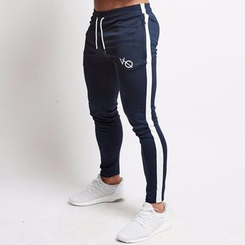 2019 Vanquish Fitness Men Sportswear Tracksuit Bottoms