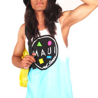 MAUI AND SONS Classic Dip Dye Tank