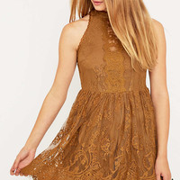 Free People Verushka Honey Mini Dress - Urban Outfitters