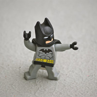 8GB Batman flash drive recycled upcycled Lego mini figure USB memory stick Mac Pc Computer laptop minifigure superhero