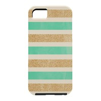 Allyson Johnson Glitter And Mint Cell Phone Case