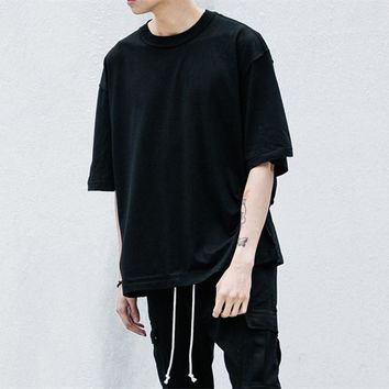Hot Style Summer T-shirt Streetwear Half Sleeve O-neck Oversize