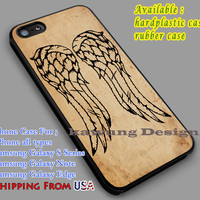 Daryl Dixon | The Walking Dead | VIntage iPhone 6s 6 6s+ 6plus Cases Samsung Galaxy s5 s6 Edge+ NOTE 5 4 3 #movie #walkingdead dL2