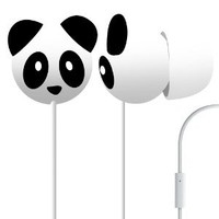 Pineapple Panda Mega Bass Earphones: Electronics