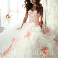 Tiffany Quinceañera Collection Sweetheart 26804 Ball Gown
