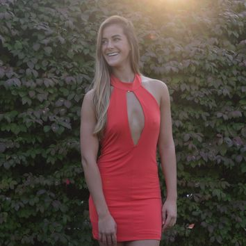 Take the Plunge Party Dress