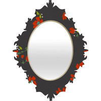 Holli Zollinger Bohemian Farmhouse Floral Baroque Mirror