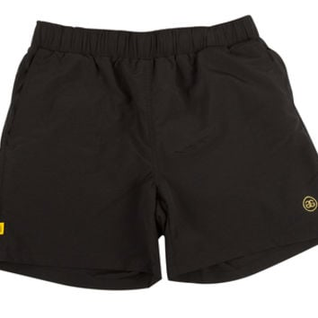 DOUBLE G NYLON DRAWSTRING SHORTS BLACK