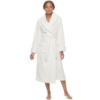 Women's Sonoma Goods For Life??plush Long Robe | Null