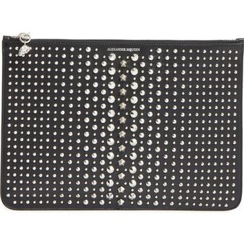 Alexander McQueen Studded Leather Pouch | Nordstrom