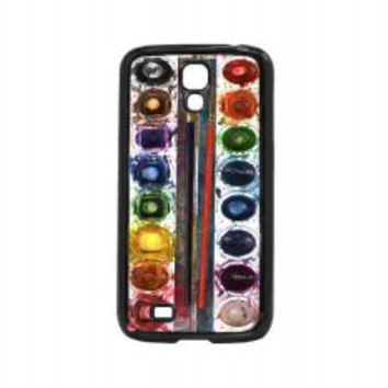 Watercolor Set for samsung galaxy s4 case
