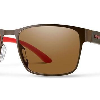 Smith - Contra Matte Brown Sunglasses / Carbonic Polarized Brown Lenses
