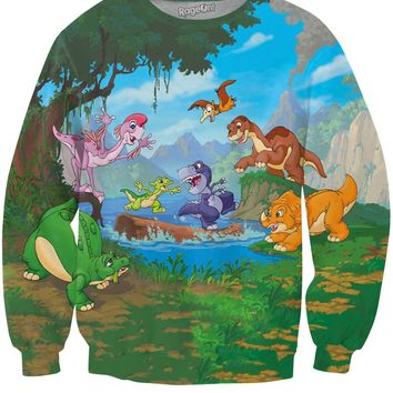 Land Before Time Crewneck Sweatshirt