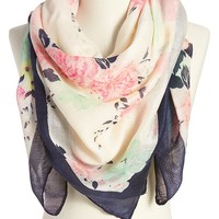 Old Navy Womens Floral Gauze Scarves Size One Size - Multi floral